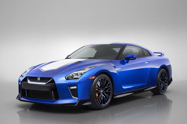 The Nissan GT-R 50th Anniversary arrives in New York