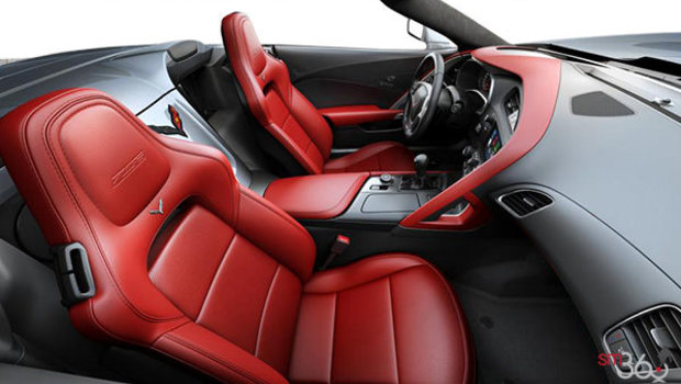 Adrenaline Red GT buckets Perforated Mulan leather seating surfaces (703-AQ9)