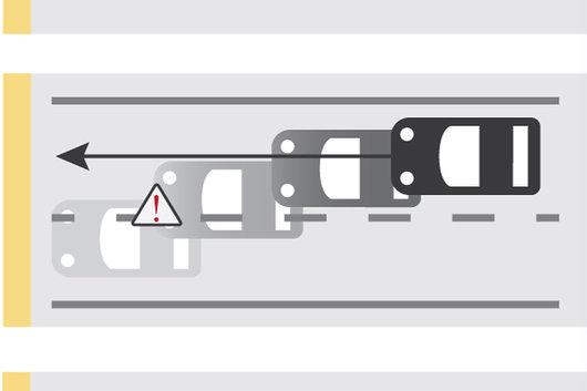 What is the lane prevention system in Toyota Safety Sense?