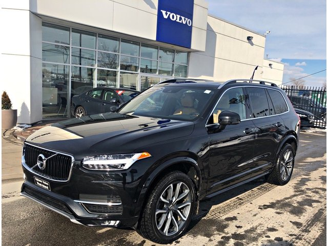 Volvo XC90 T6 AWD Momentum-7 PASSENGERS-Vision Package- 2018