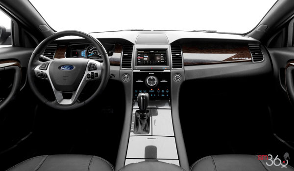 2017 Ford Taurus LIMITED | Photo 3 | Charcoal Black Leather