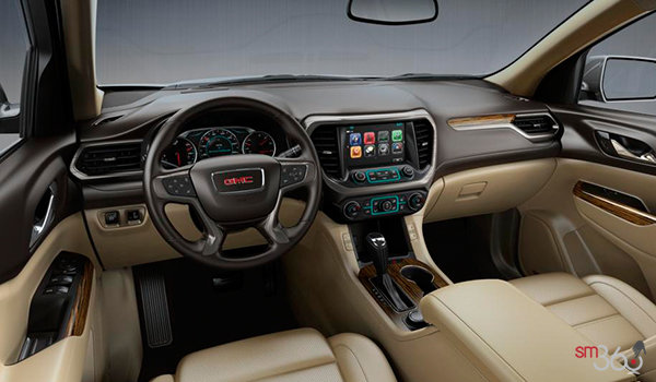 Gmc acadia denali 2017 for sale bruce chevrolet buick gmc dealer in digby and yarmouth for Gmc acadia denali 2017 interior