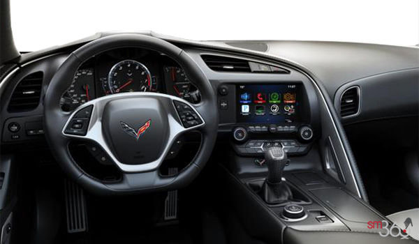 2018 Chevrolet Corvette Convertible Stingray Z51 1LT | Photo 3 | Grey GT buckets Perforated Mulan leather seating surfaces (141-AQ9)