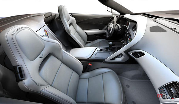2018 Chevrolet Corvette Convertible Stingray Z51 3LT | Photo 1 | Grey GT buckets Leather seating surfaces with sueded microfiber inserts (146-AQ9)