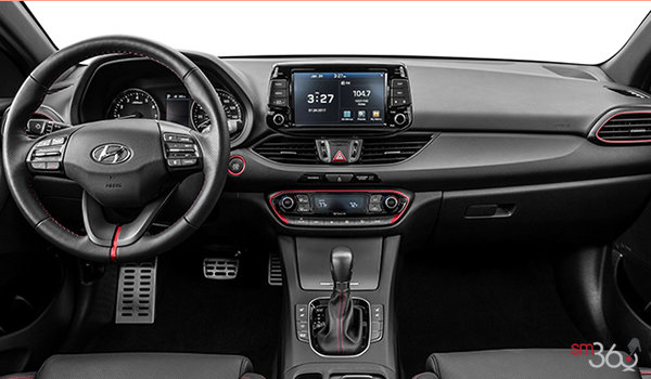 2018 Hyundai Elantra GT SPORT ULTIMATE | Photo 3 | Black Leather with Red Accents