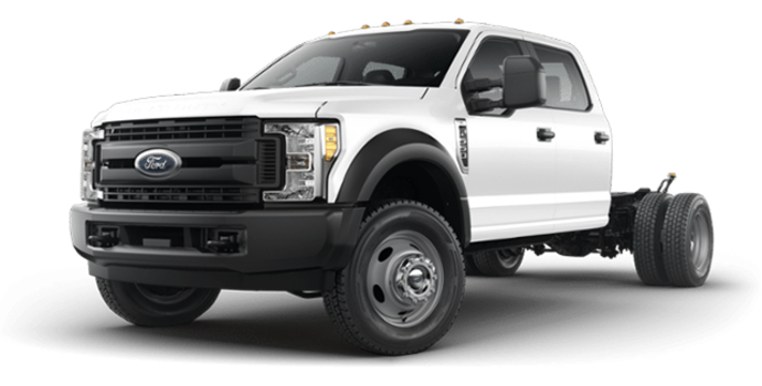 2018 Ford Chassis Cab F-550 XL | Photo 4 | Oxford White