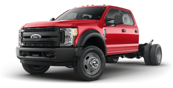 2018 Ford Chassis Cab F-550 XL | Photo 4 | Race Red