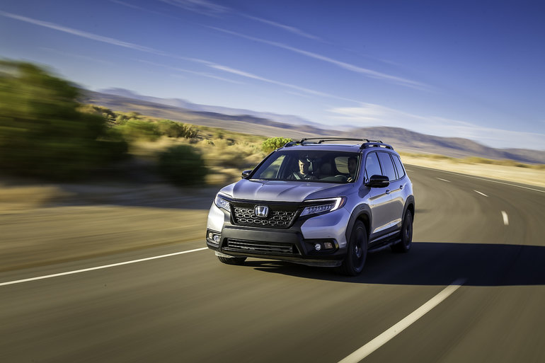 The 2019 Honda Passport seen by the experts