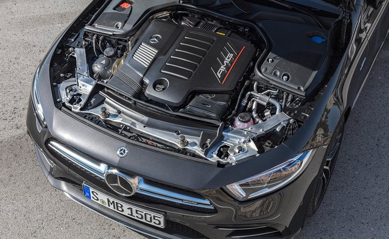 A new Mercedes-AMG 53 4Matic series introduced in Detroit