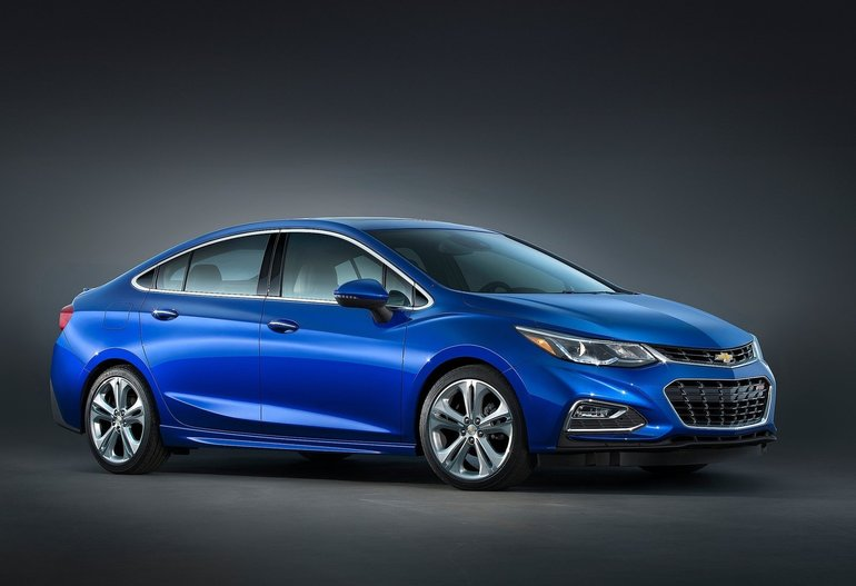 The All-New 2016 Chevrolet Cruze