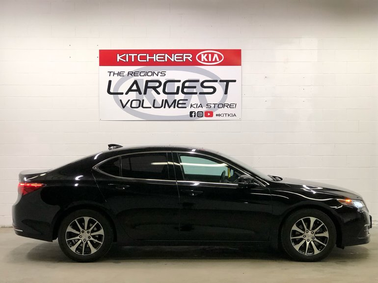 2015 Acura TLX -ONE OWNER, LEATHER, SUNROOF, BACKUP CAMERA
