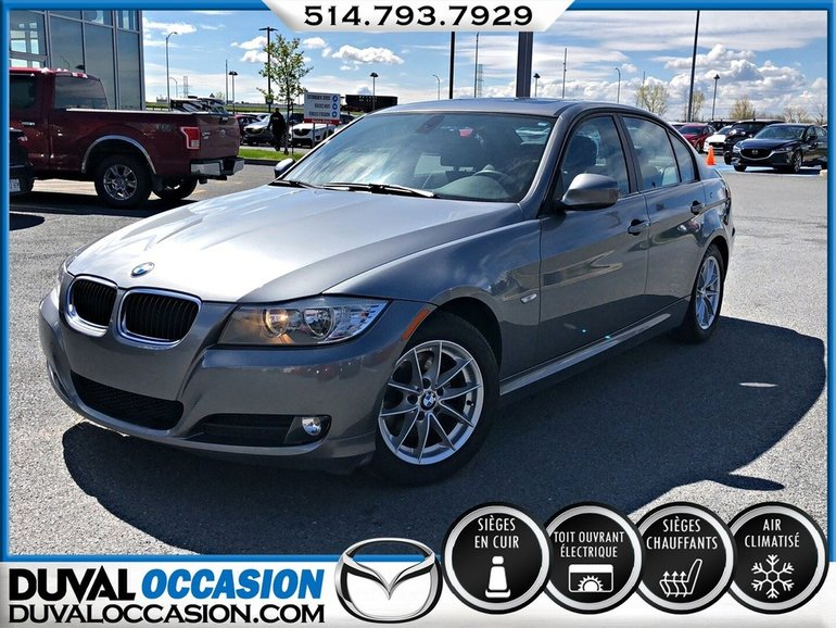 BMW 323 I + CUIR + TOIT OUVRANT 2010