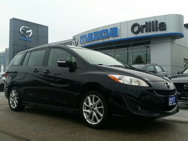 2017  Mazda5 GT-LEATHER-ROOF-HEATED SEATS