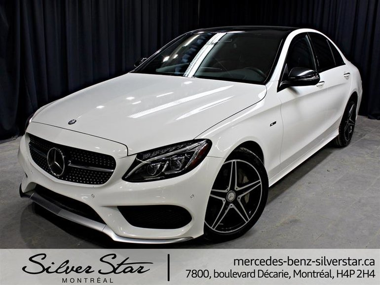 Silver Star Montreal Pre Owned 2016 Mercedes Benz C450 Amg 4matic