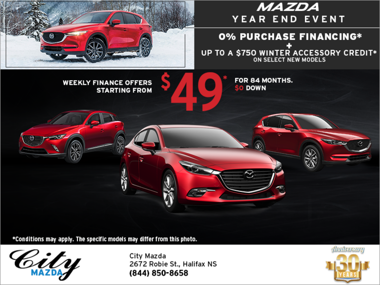 Mazda Year End Event!