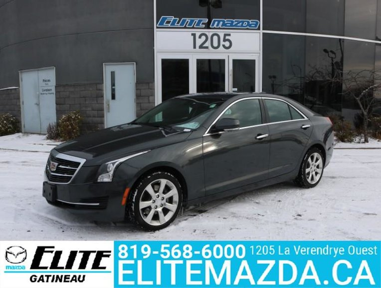 Pre Owned 2016 Cadillac Ats 2 0t In Ottawa And Gatineau Region Pre