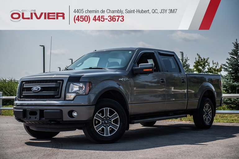 Ford F-150 FX4 4X4 MAGS CAMÉRA HITCH A/C 2014