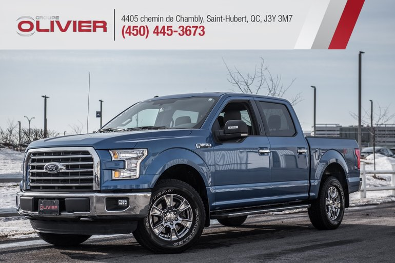 Ford F-150 XLT 4X4 CAMÉRA MAGS GROUPE REMORQUAGE A/C 2016