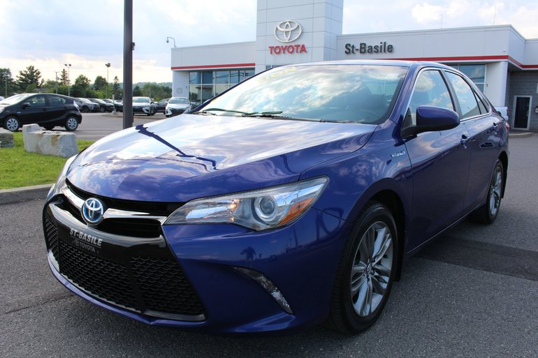 Toyota Camry Hybrid SE MAGS CUIR GR ELECTRIQUE BLUETOOTH 2016