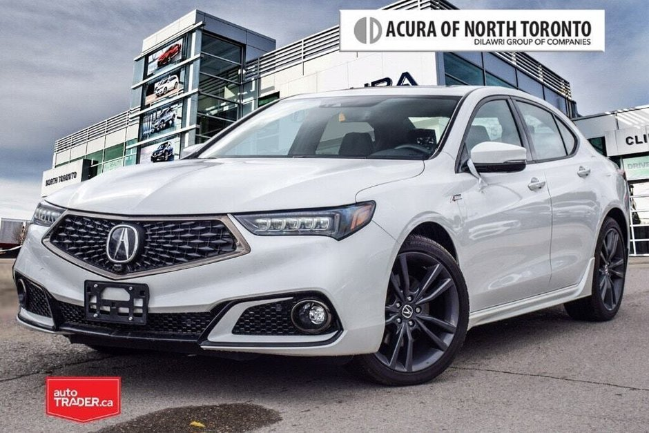 2019 Acura TLX 3.5L SH-AWD w/Tech Pkg A-Spec Red in Thornhill, Ontario - w940px