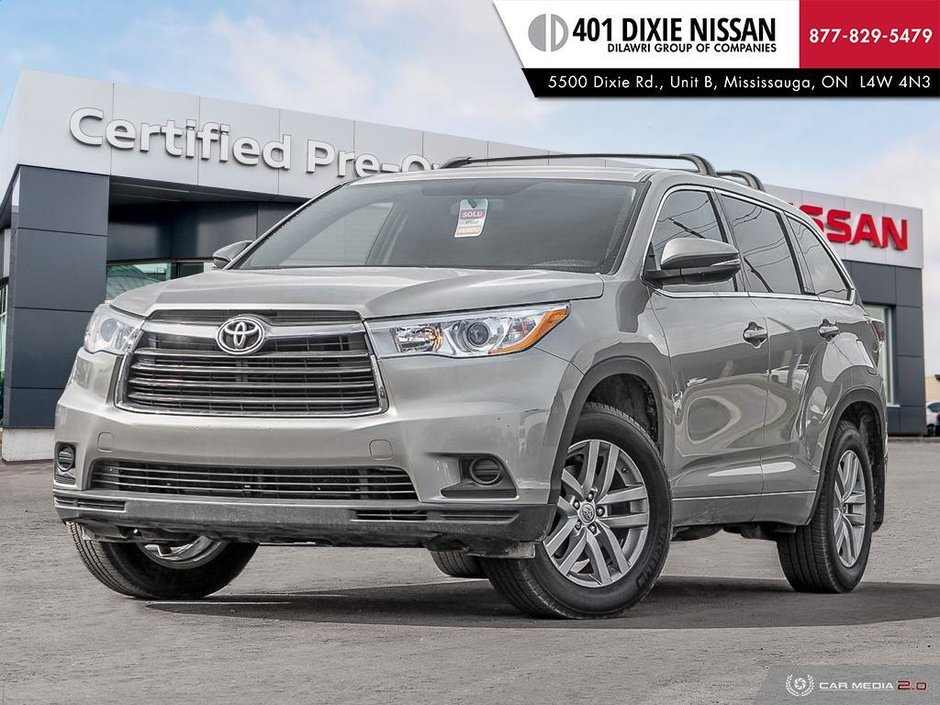 2014 Toyota Highlander LE AWD in Mississauga, Ontario - w940px