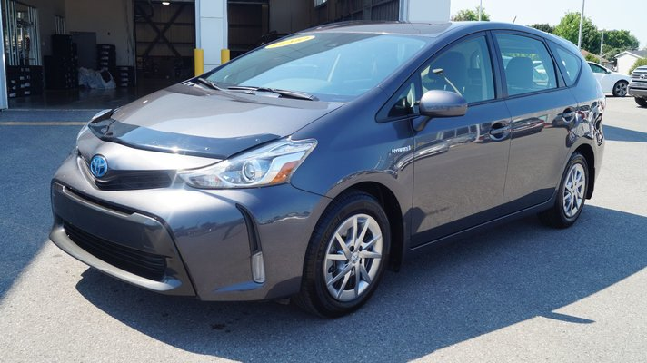 Used Prius V >> Used 2018 Toyota Prius V Groupe De Luxe Demo In Chateauguay Used